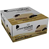 Power Crunch High Protein Energy Snack, Cookies & Creme,Bar, 1.4 Ounce (12 Count)