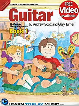 guitar lessons for kids book 1 how to play guitar for kids free video available. Black Bedroom Furniture Sets. Home Design Ideas
