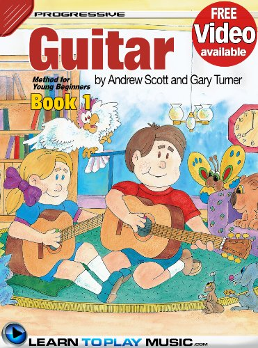 Free Teaching Videos (Guitar Lessons for Kids - Book 1: How to Play Guitar for Kids (Free Video Available) (Progressive Young Beginner))