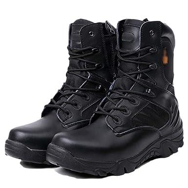 FCBDXN Botas Del Ejército Del Delta Botas De Combate De Alta Gama Para Hombres Del Desierto Fuerzas Especiales Zapatos De Asalto Entrenados Tácticas Calzado ...