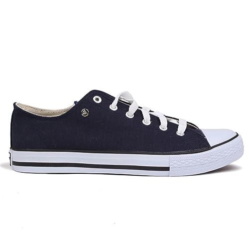 Dunlop Hombre Canvas Zapatillas Zapatillas Zapatillas Deportivas Lino Guantes Plim solls: Amazon.es: Zapatos y complementos