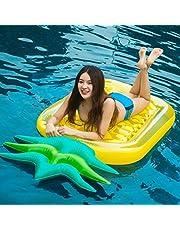 Einhorn luftmatratze Aufblasbares Pool schwimmen Pool PVC aufblasbarer Schwebebett für Erwachsene & Kinder