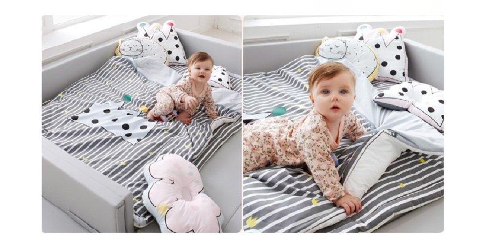 BonitaBeBe Peek-A-Boo : Children's Gargen Dream Baby Blacket + Pad Set , Crown