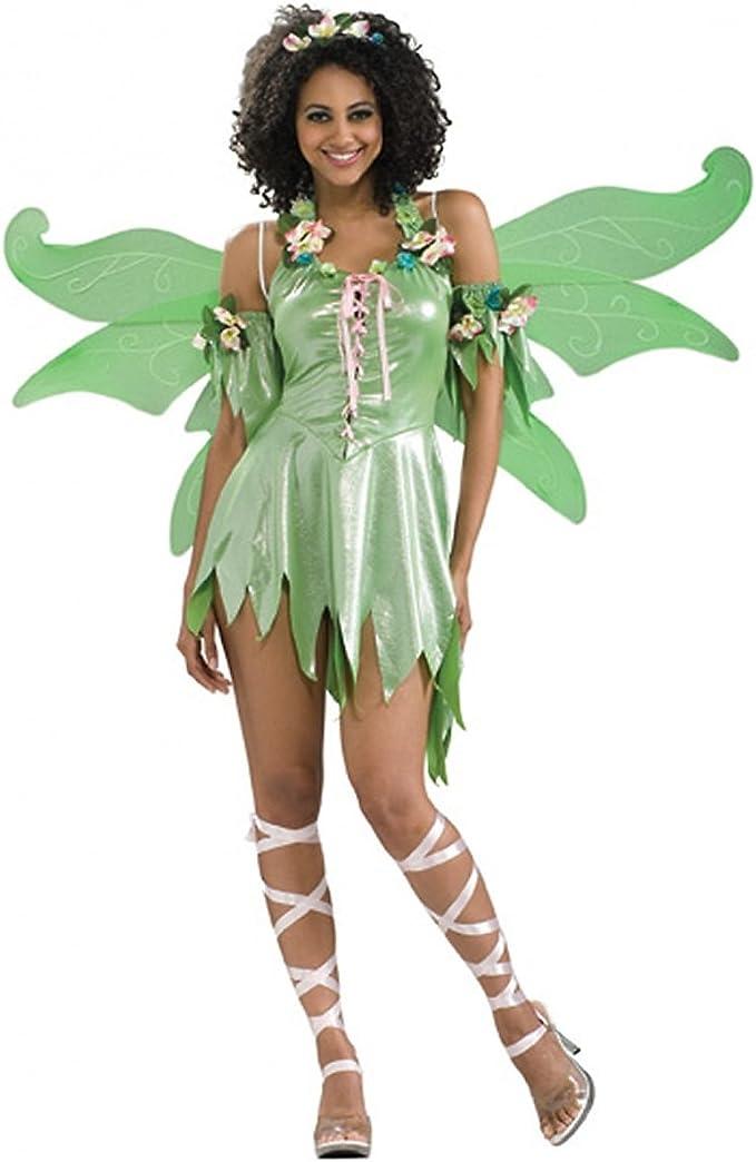 Disfraz hada verde del bosque: Amazon.es: Ropa y accesorios