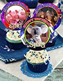 12 SING Birthday Inspired Party Picks, Cupcake Picks, Cupcake Toppers #1