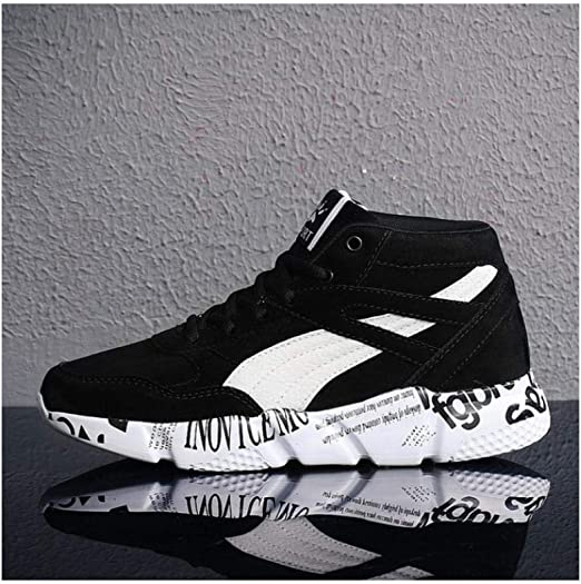 WAXFAS Outdoor Sports Shoes Mens Autumn and Winter New Trend Sports Mens Running Shoes: Amazon.es: Deportes y aire libre