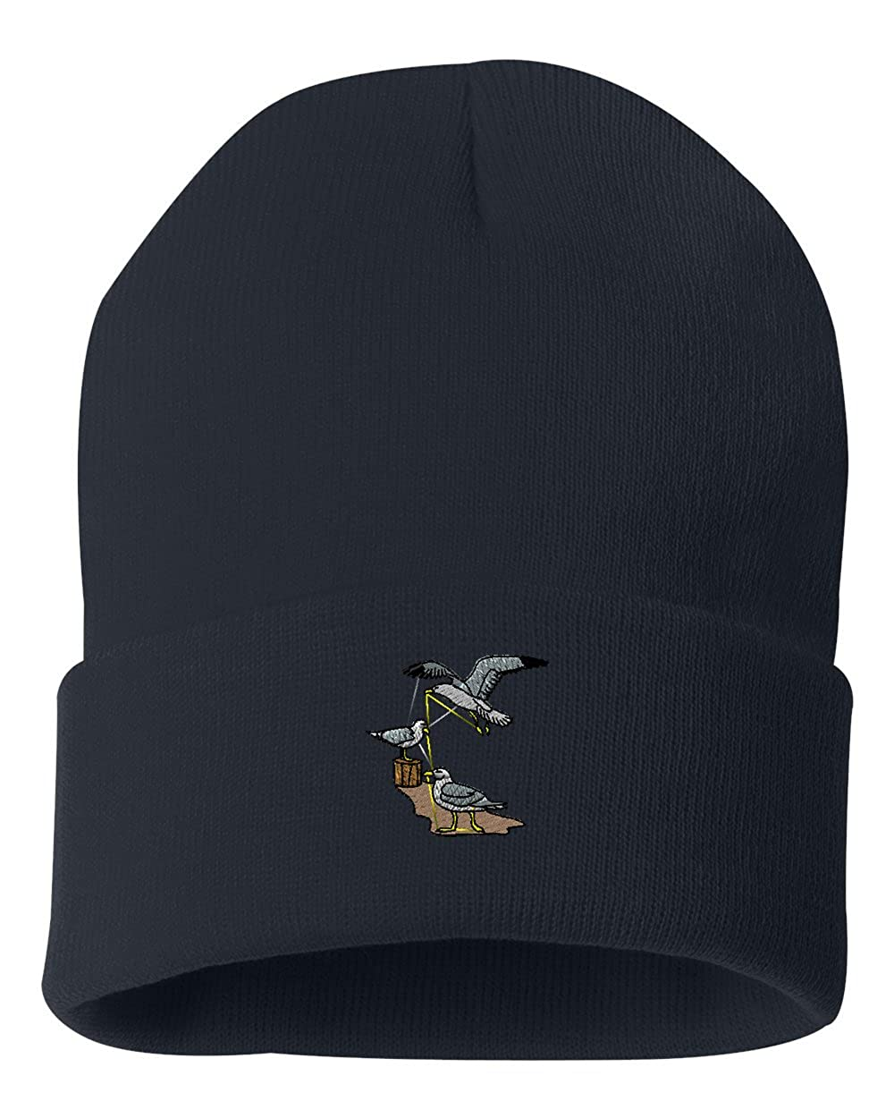 Seagulls Custom Personalized Embroidery Embroidered Beanie