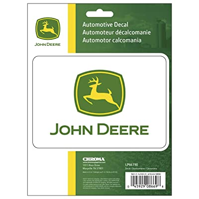 "Chroma 8669 John Deere Stick Onz 6x 8"" Decal: Automotive"