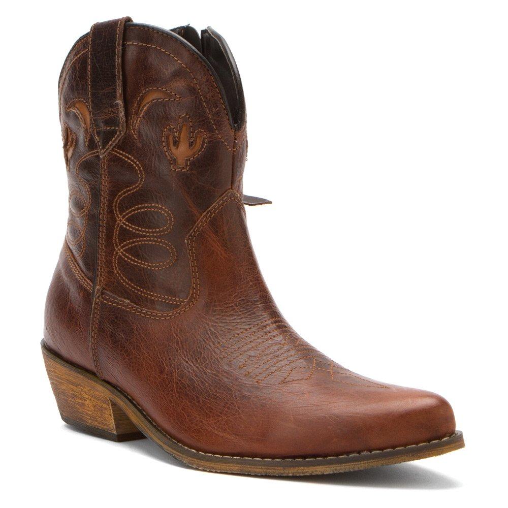 Dingo Women's Adobe Rose Leather Boots B00EHQNXFC 8|Orange