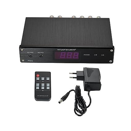 Nobsound Hi-Fi 2 Vías altavoces/amplificadores de cruzado de audio switcher selector divisor
