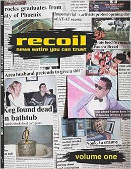 Recoil News Satire You Can Trust 1 Amazon Co Uk Cliff Frantz