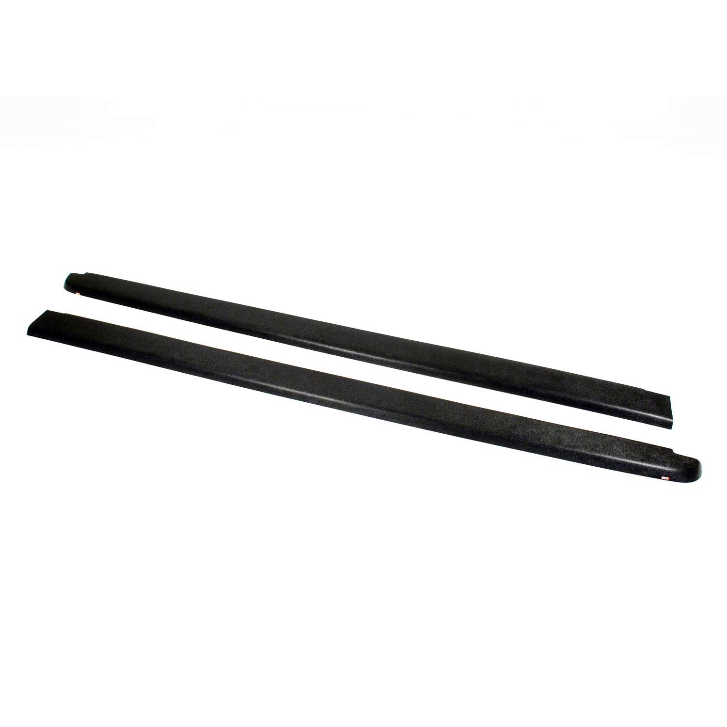 Wade 72-40151 Truck Bed Rail Caps Black Smooth Finish without Stake Holes for 1999-2007 Silverado & Sierra 1500 2500 (Classic only) with 6.5ft bed (Set of 2) Westin