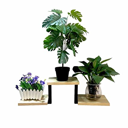 Amazon WallMounted Flower Stand Plant Pots Rack Floating Magnificent Outdoor Floating Shelves