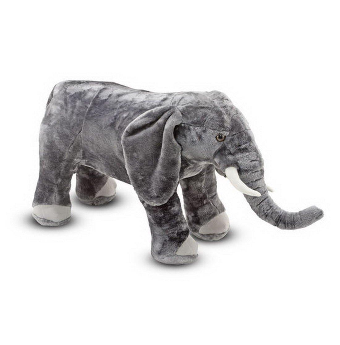 Salut Maman - Gran Elefante Elephant Peluche Oversize Deko, 43 x 94 x 33 cm, Gris: Amazon.es: Juguetes y juegos