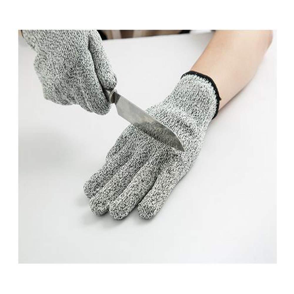 Taille Unique Level 5/Gants Hppe r/ésistante abattage et Anti-entailles ext/érieur Multi-usages Gants Anti-Coupure