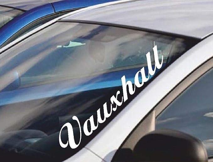 UUSticker Pegatina de Vinilo para Parabrisas de Coche de Vauxhall de 55 cm: Amazon.es: Coche y moto