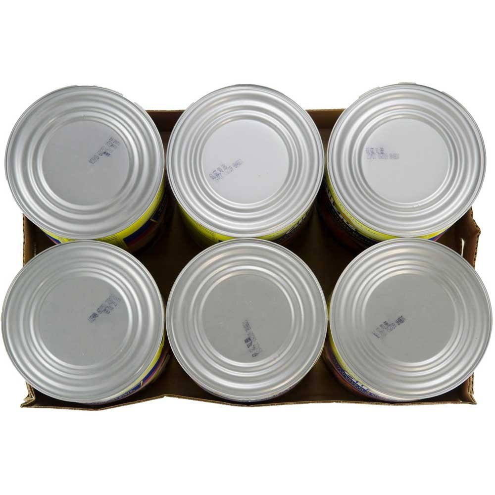 Allens Canned Vegetarian Refried Beans with Vegetable Oil Solid Pack, 112 Ounce - 6 per case.