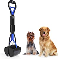 DEGBIT Long Handle Portable Pet Pooper Scooper for Large & Small Dogs, Premium Materials and…