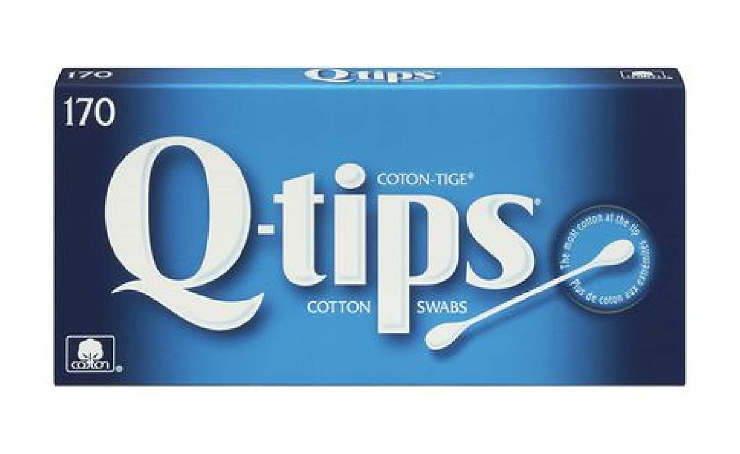 Q-Tips Cotton Swabs 170 counts, 2 packs Unilever