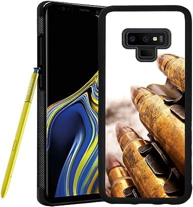 Carcasa para Samsung Galaxy Note 9, diseño de Bala, Goma Flexible, Color Negro: Amazon.es: Electrónica