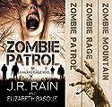 The Walking Plague Trilogy Audiobook by J.R. Rain, Elizabeth Basque Narrated by David Doersch