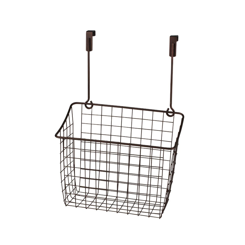 Amazon.com: Spectrum Diversified Grid Storage Basket, Over The Door, Large,  Bronze: Home U0026 Kitchen
