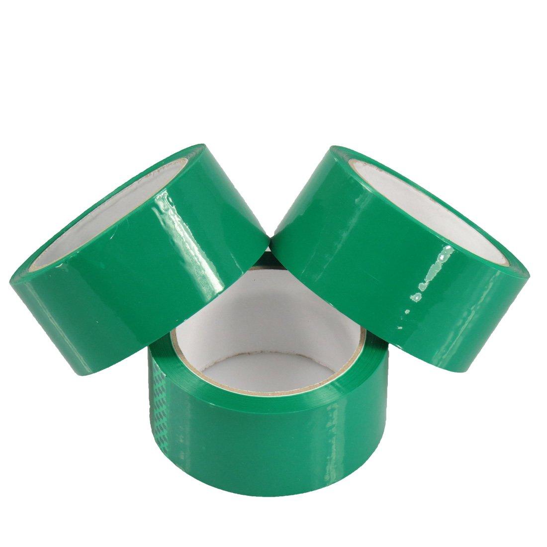 Triplast 48 mm x 66 m, a basso rumore imballaggio nastro, colore: verde (Confezione da 3) CL