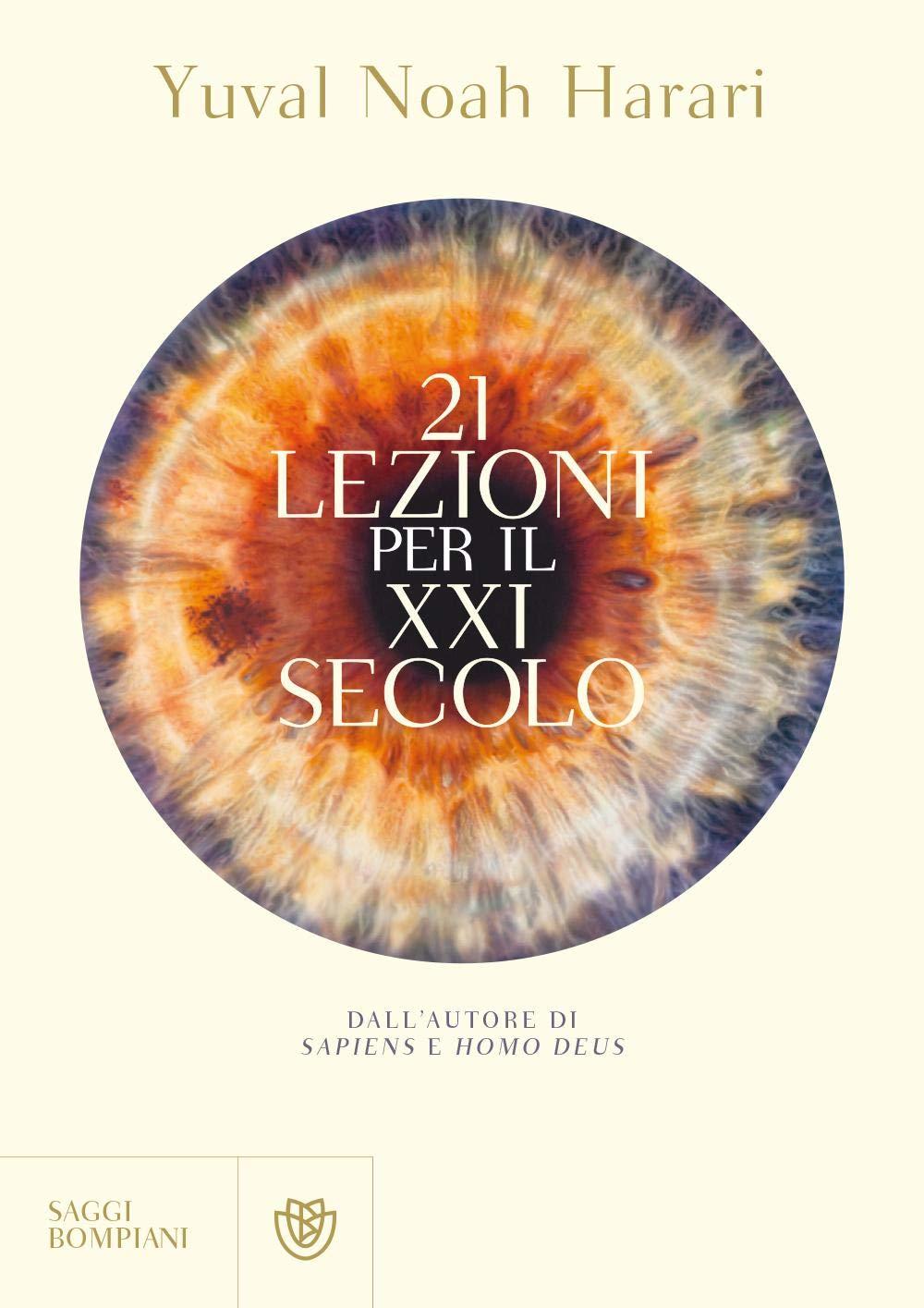 Copertina Libro 21 lezioni per il XXI secolo