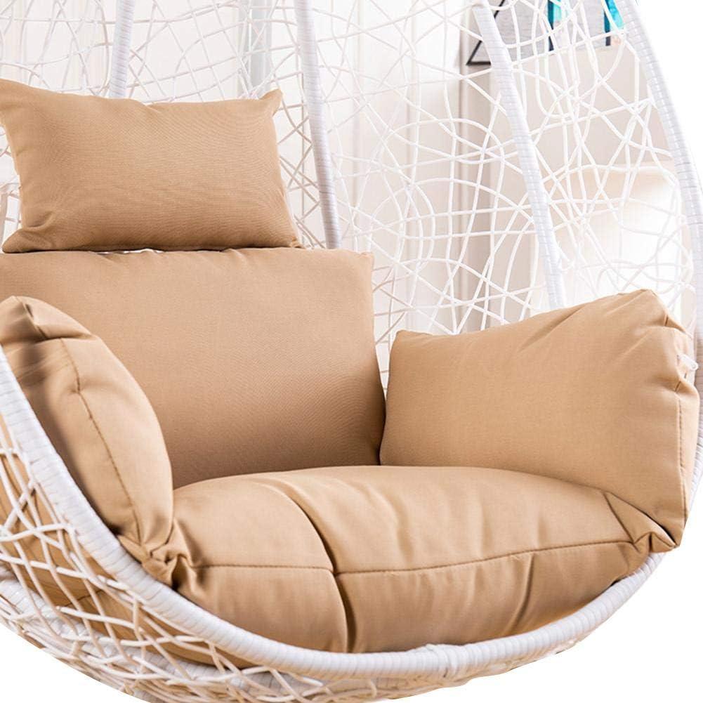 sedia a dondolo antiscivolo Cuscino da sedia sospeso in morbido cotone per poltrona sospesa da giardino terrazza sedia a dondolo