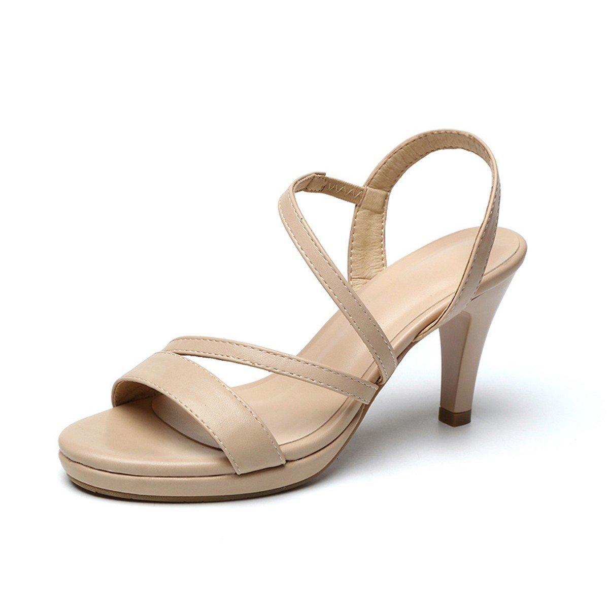 HBDLH-Damenschuhe/Sommer-Sandaleen Schlank-Heels und High Heels Lässig Damenschuhe