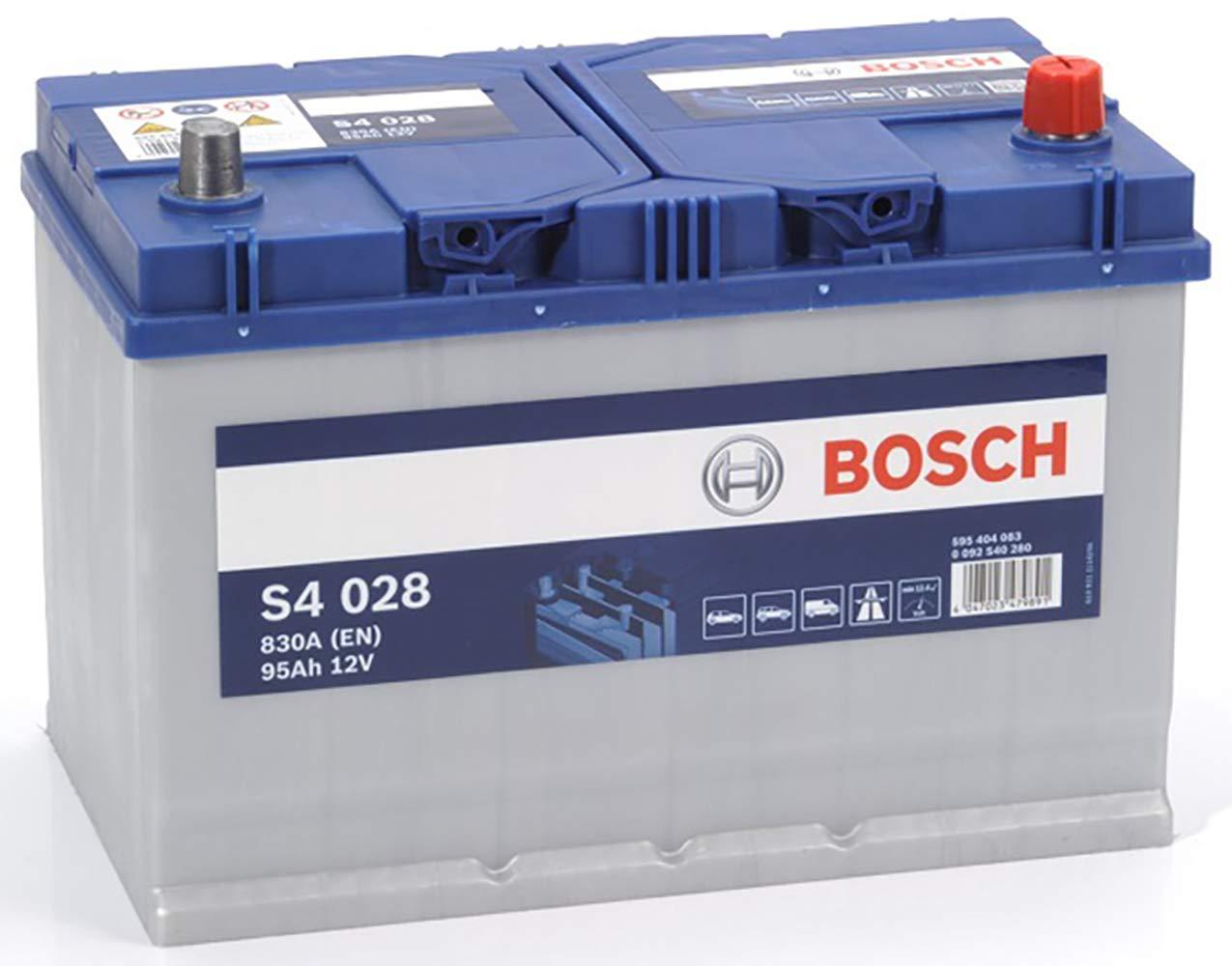 Bosch S4028 Batteria Auto 95A/h-830A BOSCH BATTERIE 0092S40280