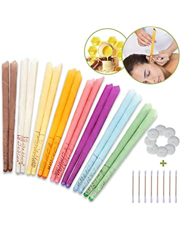 12 Beezneez Wax Co Ear Wax Removal Candles BeesWax Hollow Candle Ear Cones 12pc
