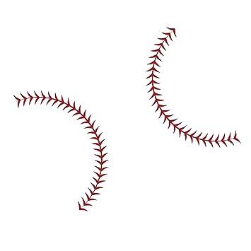 Large Baseball Seams Stitching