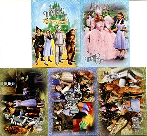 THE WIZARD OF OZ MOVIE SERIES 1 2006 BREYGENT COMPLETE PROMO CARD SET OF 5