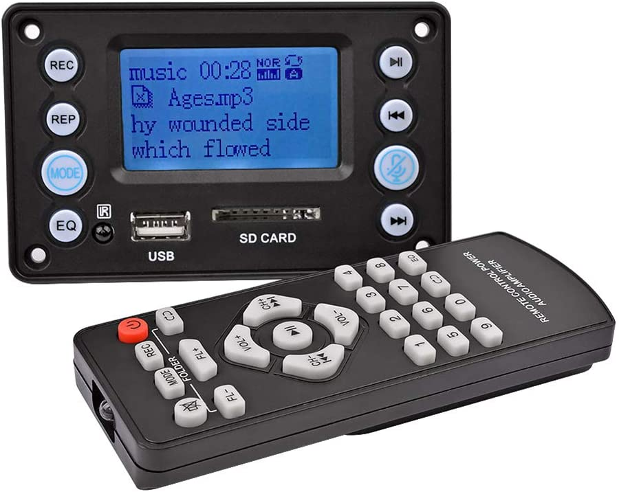 Aiyima 5v Lcd Mp3 Decoder Board With Bluetooth 4 2 Elektronik
