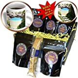 Sandy Mertens Michigan Travel Designs - Mackinac Island Arch - Coffee Gift Baskets - Coffee Gift Basket (cgb_6277_1)