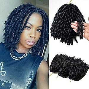 Amazon.com : Flyteng spring twist hair for braids black 3 ... Jamaican Rope Twist Braids