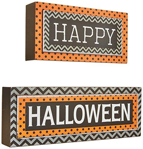 Transpac Happy Halloween Blocks Set
