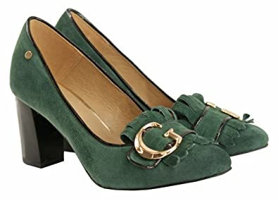 BOSCCOLO 4535 Timeless Pumps Heels Leather Leder Cuir