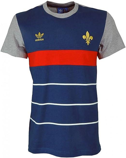 adidas Originals Camiseta de fútbol de Alemania Argentina Inglaterra Francia España M Francia FFF: Amazon.es: Deportes y aire libre