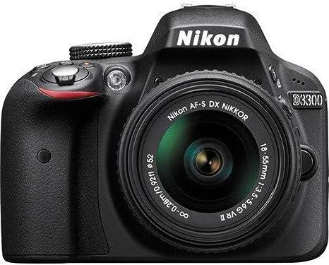 Nikon D3300 - Cámara reflex digital de 24.2 Mp (pantalla 3