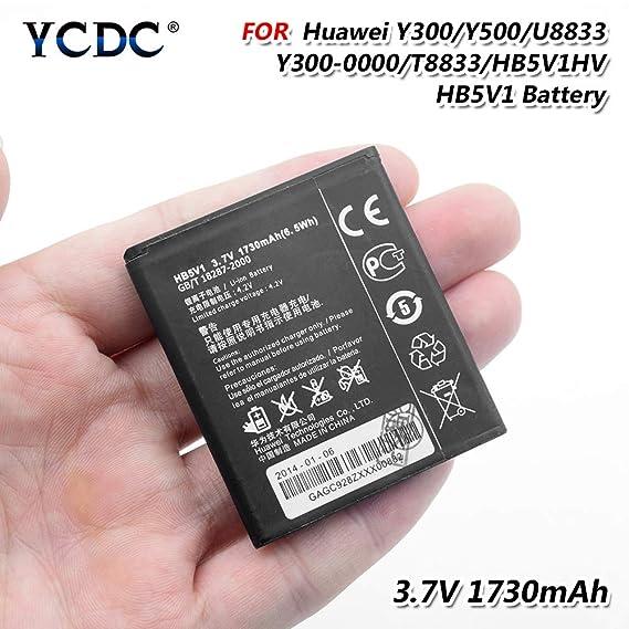 Amazon com: HB5V1 Battery for Huawei Ascend Y300 Y336 Y500 Y516