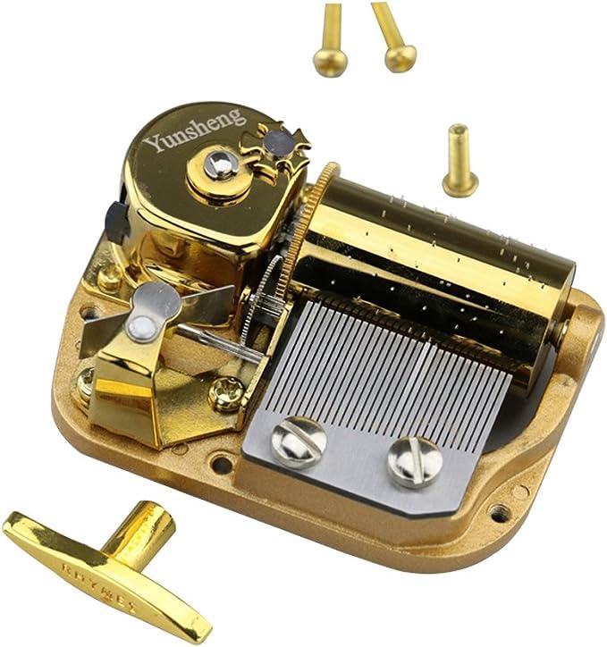 YouTang - Mecanismo de 30 notas chapado en oro, movimiento de caja ...