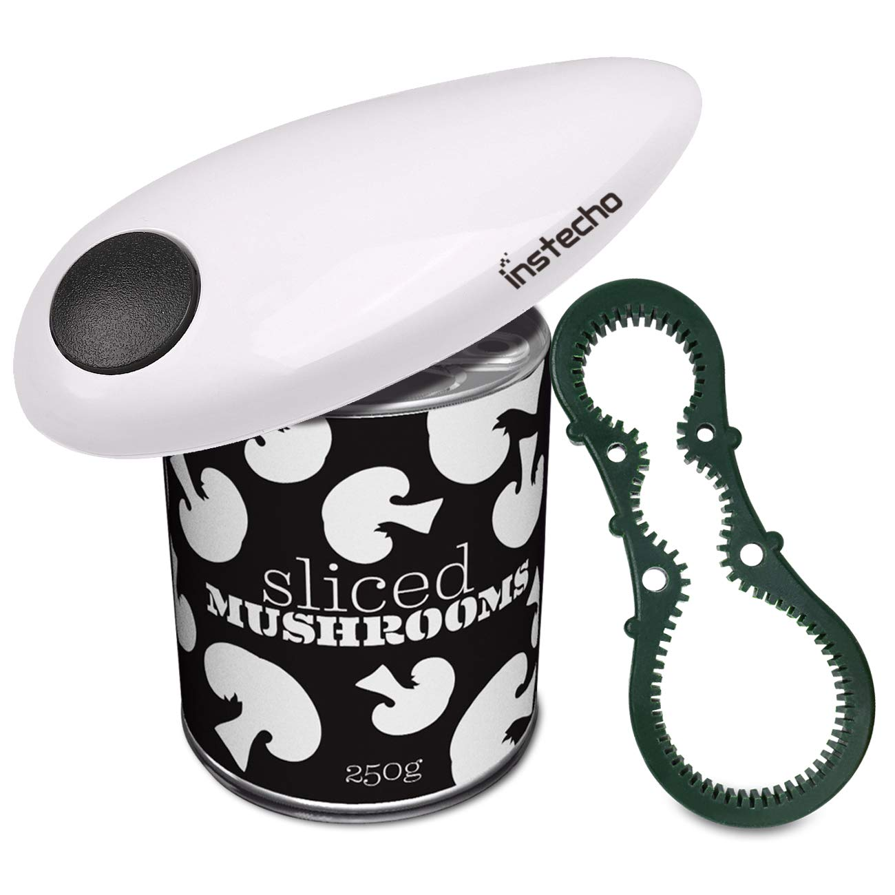 instecho Electric Can Opener, M, White-8 AUKA