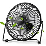 SIMBR Portable Metal USB Mini Table Fan 6inch