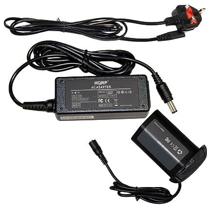 Canon ACK-E4 Adaptador AC para Canon EOS 1D Mark III IV//EOS-1Ds Mark III//EOS-1Dx/ Negro