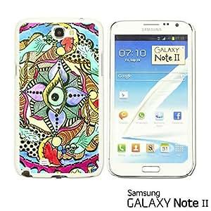 OnlineBestDigital? - Funny Pattern Hardback Case for Samsung Galaxy Note 2 - Beautiful Design Paint