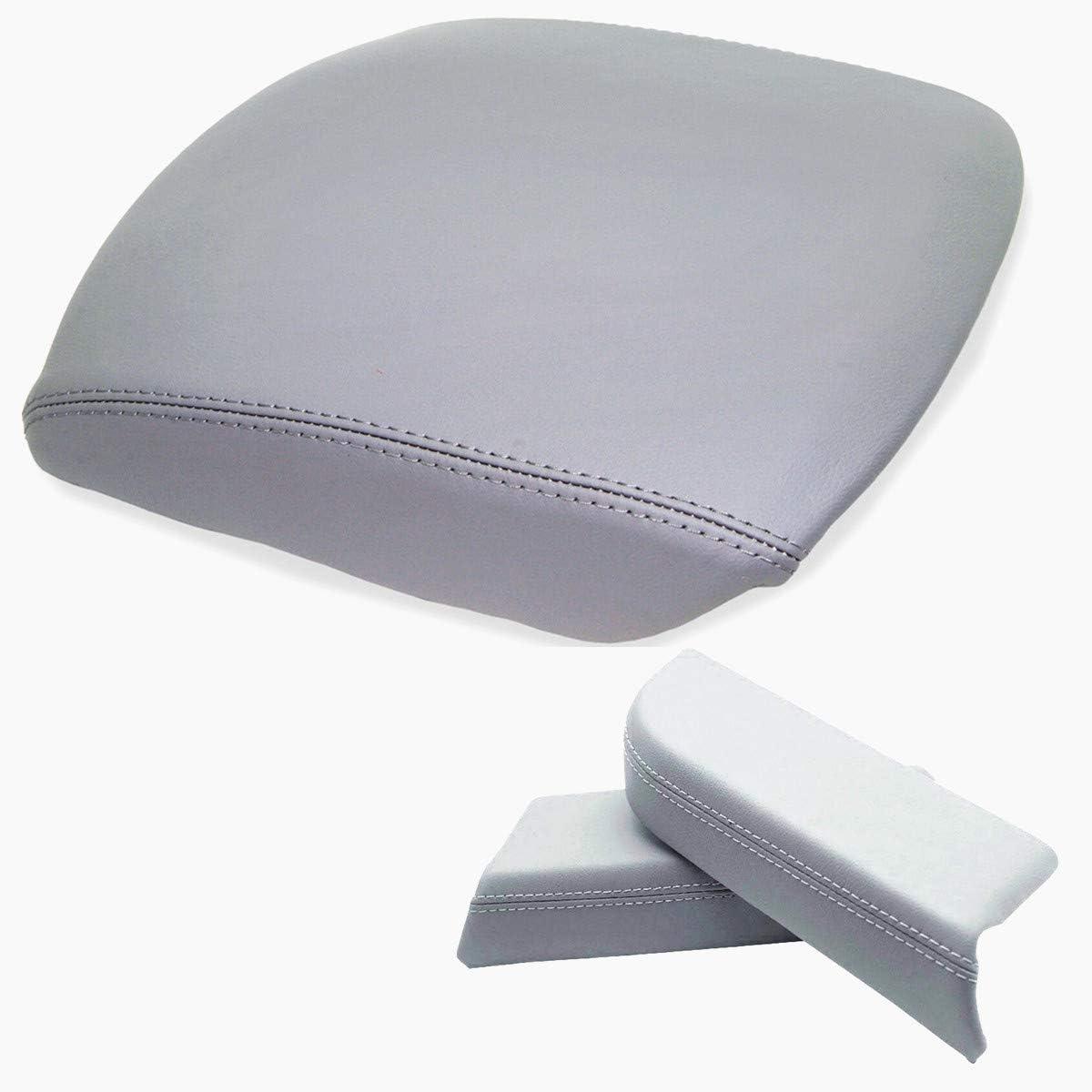 Dunhil Center Console Cover Front Door Armrest Replacement Kit Fits for 2009-2013 Honda Pilot Beige