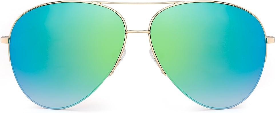 Air Force Classic Double Bridge Aviator Sunglasses for Women and Men