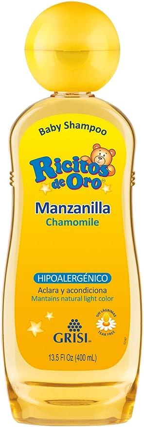 Ricitos de Oro Shampoo, Manzanilla, color Amarillo, 400 ml: Amazon.com.mx: Salud y Cuidado Personal